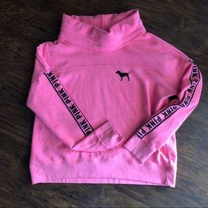 Victoria's Secret PINK cowl sweater hoody